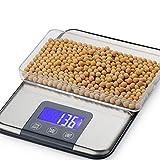 LICHUXIN Báscula Cocina Electrónicas Alta Precisión Acero Inoxidable Pantalla LCD Función Tara para Cocinando Fruta Vegetales Peso15kg/1g (Size : 15kg/1g)