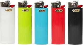 BIC Lote com 5 mini lotes de isqueiro multicoloridos