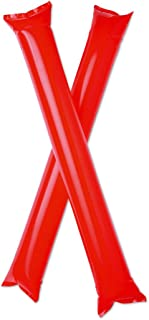 eBuyGB Pack of 10 Cheering Sticks - Bang Bang Noise Makers/Clappers for Football & Sports Events