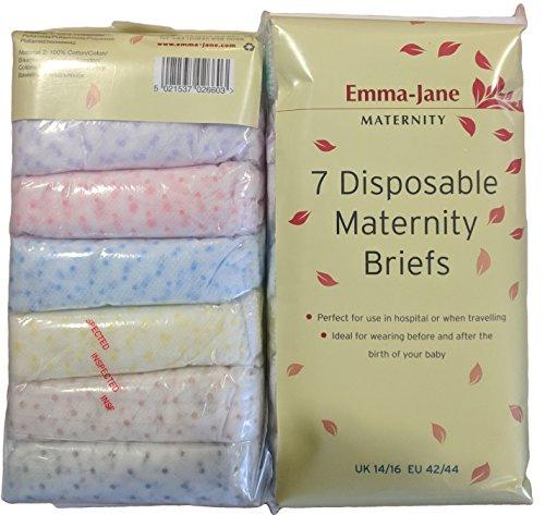 Emma-Jane Einweg-Unterhose Krankenhausunterhose Gr. 39-40, weiß