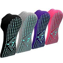 Yoga Anti-Rutsch-Socken