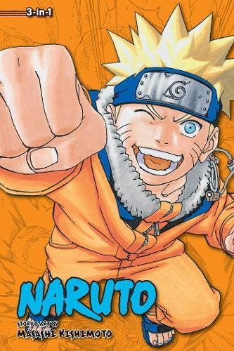 Naruto (3-in-1 Edition), Vol. 7