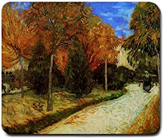The Public Park at Arles By Vincent Van Gogh Mouse Pad