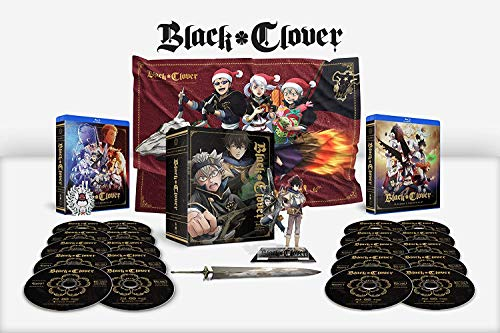 Black Clover - Season 1 and 2 Complete - AMAZON EXCLUSIVE [Blu-ray]