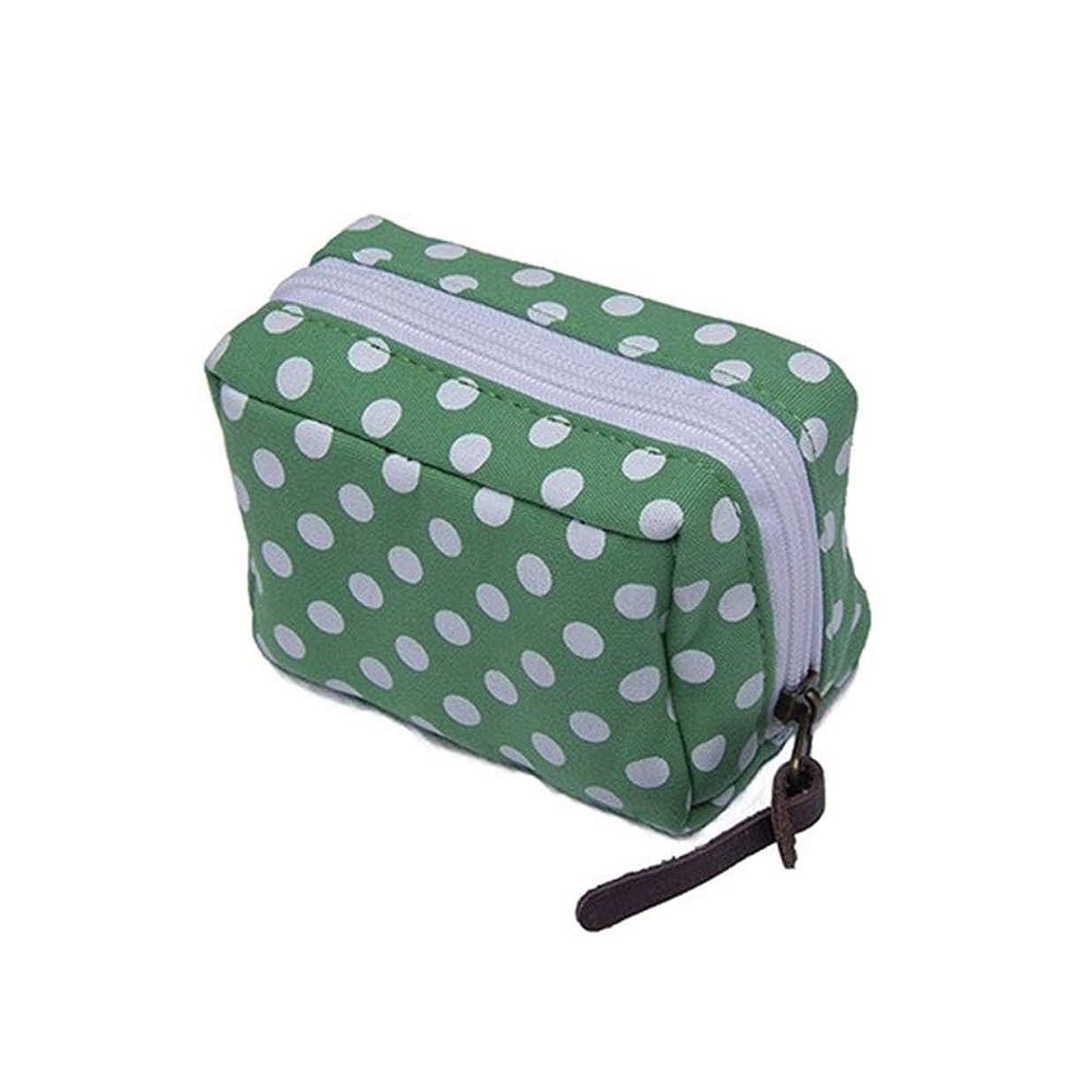 一目ビスケットトレイエッセンシャルオイル収納ケース旅行エッセンシャルオイルキャリングケースはレットとエッセンシャルオイルオーガナイザーバッグ形の6本のボトル10ミリリットル、15ミリリットルバイアルウェーブポイントを保持します 香水フレグランス (色 : 緑, サイズ : 11.5X5.8CM)