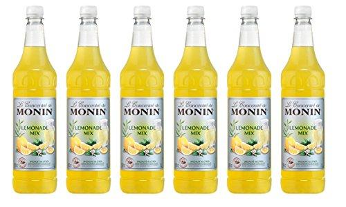 Monin Lemonade Mix Konzentrat, 1,0L PET 6er Pack