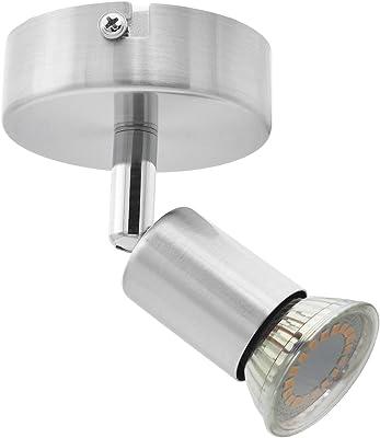 National Electronics GU10 3,5W 250lm LED plafonnier, 1 flammes, 230V, plafonnier