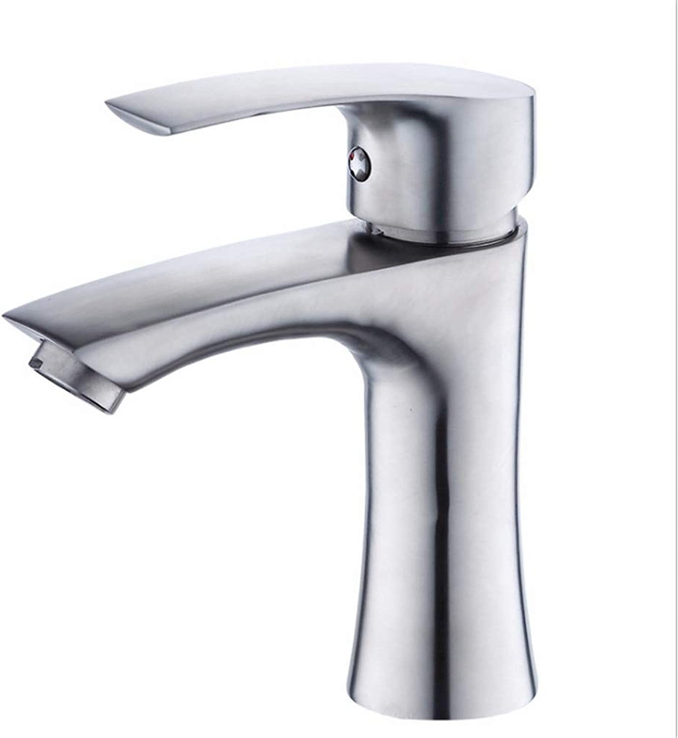 Counter Drinking Designer Arch304 Stainless Steel Faucet Cold and Hot Basin Faucet Mixed Water Valve Bathroom Faucet