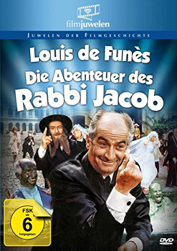 Die Abenteuer des Rabbi Jacob - mit Louis de Funès (Filmjuwelen) [DVD]