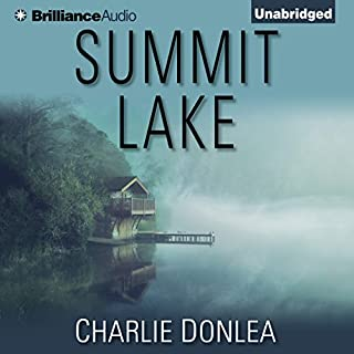 Summit Lake audiobook cover art