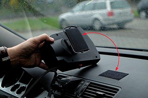 Auto Heizung, Innenraumheizung Auto Heizlüfter 12V 300 Watt Windschutzscheibe Defroster Tragbare Heizung für Auto~
