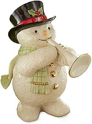 Lenox 2015 Jazzy Trumpeter Snowman Figurine