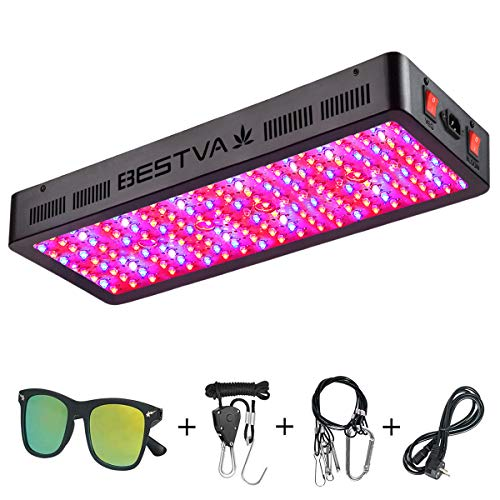 BESTVA DC Series 2000W LED Grow Light Full Spectrum Grow Lamp for Greenhouse Hydroponic Indoor...