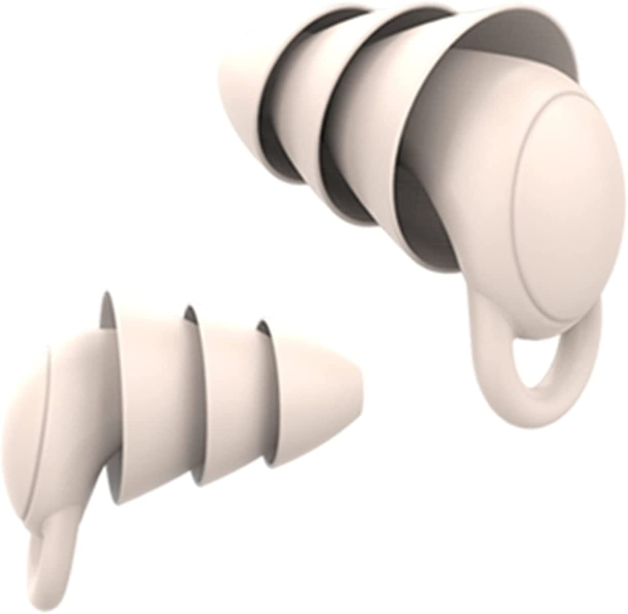 Newmind 2pcs Comfortable Bombing free shipping Silicone Limited price Noise Plugs Ear Cancelling Ea