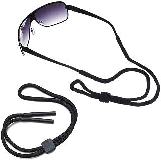Webla Einstellbarer Brillenhalter Universal Fit Rope, EVA-Brillenhalter
