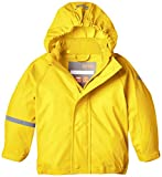 CareTec Kinder wasserdichte Regenjacke, Gelb (Yellow 324), 9 Monate/74 cm