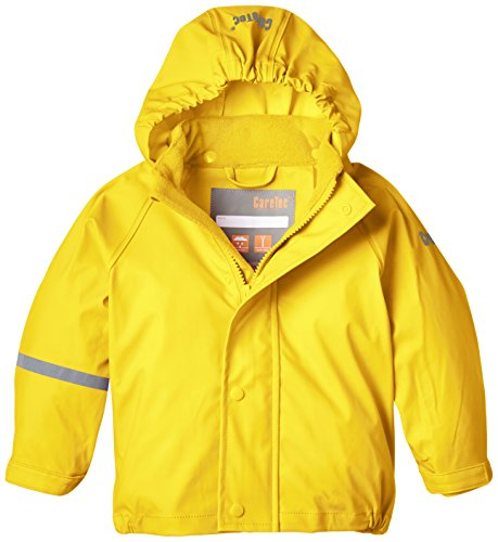 CareTec Kinder wasserdichte Regenjacke, Gelb (Yellow 324), 24 Monate/92 cm