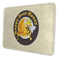 ゲーミングマウスパッド - 蜂 動物 マウスパッド おしゃれ ゲームおよびオフィス用/防水/洗える/滑り止め/ファッショナブルで丈夫 25x30cm