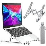 APMIEK Supporto PC Portatile Alluminio 7 Livelli Regolabile Porta Notebook, Raffreddamento...