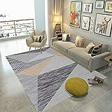 Alfombra clásica Sala de Estar Dormitorio Estera de Yoga China Jacquard sofá cojín Alfombra Impresa Alfombra Antideslizante 160x230cm