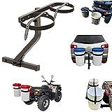 Bucket Carrier Hitch Mount | Dual Bucket Holder for ATV, UTV, Trucks, SUVs Vehicles