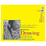 Strathmore 300 Series Drawing Pad, Medium Surface, 14'x17', Glue Bound, 50 Sheets