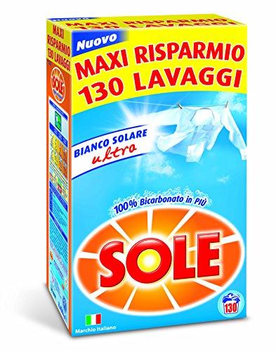 Sole Lavatrice Polvere 130 Misurini - 8450 g