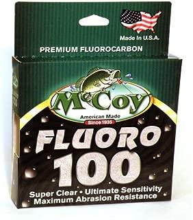 McCoy Fishing Fluoro 100 Fluorocarbon Fishing Line