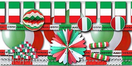 Italien Partydekoset Grundausstattung - Partydeko im Sparset