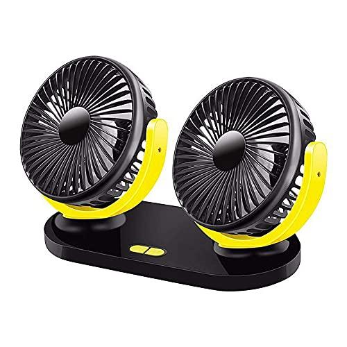 Fanático del coche Ventiladores de ventilador de automóviles para automóviles para automóviles Ventilador de ventilador para automóvil para enchufe de interior de automóvil en ventilador de automóvil