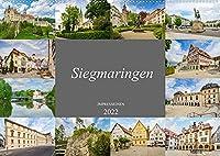 Sigmaringen Impressionen (Wandkalender 2022 DIN A2 quer): Eine wunderschoene Stadt wie aus dem Maerchenbuch (Monatskalender, 14 Seiten )