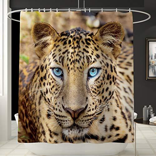 Deirdre Agnes Gedrukt douchegordijn mat badkamer mat set badkamer creatief douchegordijn badkamer mat 180 * 180cm