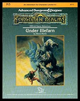 N5 Under Illefarn - Book  of the Advanced Dungeons and Dragons Module #C4