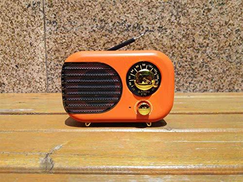 WUBAILI Radio FM Portátil con Bluetooth, Reproductor Y Grabador De Casetes De Radio con Sintonización Analógica De Radio Am/SW, Entrada AUX USB Micro-SD TF