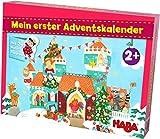HABA-Mi Primer Calendario de Adviento con Castillo de Princesa, para niños a Partir de 2 años. (304904)