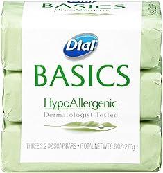 cheap Dial Basic Bar Soap, Hypoallergenic, 3.2 oz Bar, 3 Pack