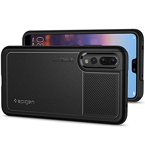 "Spigen Marked Armor 6.1"" Funda Negro - Fundas para teléfonos móviles (Funda, Huawei, P20 Pro, 15,5 cm (6.1""), Negro)"