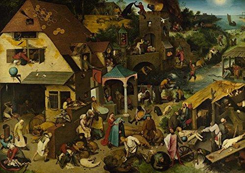 Unbekannt Puzle de 1000 Piezas, diseño de Brueghel Pieter