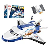 Henoda Building Toys for 8-12 Year Old Boys Girls, City Space Mars Exploration Space Shuttle Model kit, STEM Projects Educational Birthday Gifts for 6-12 Year Old Boys Girls(488Pieces)