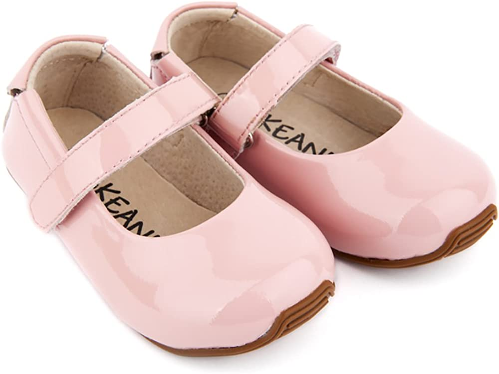 SKEANIE Mary-Jane Shoes Patent Pink