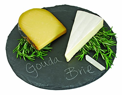 TF Slate Cheeseboard and Chalk Set,  Round