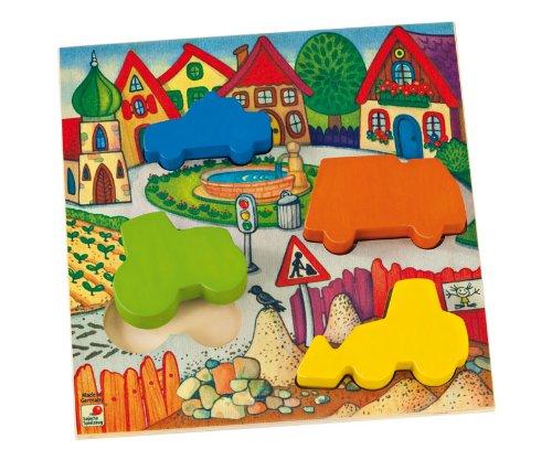 Selecta Spielzeug 2021 - Formenpuzzle Fahrzeuge