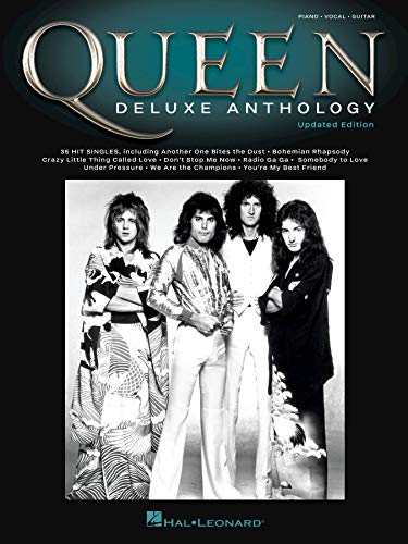 Queen - Deluxe Anthology Songbook: Updated Edition (English Edition)