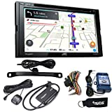 JVC KW-V840BT Compatible with Android Auto/CarPlay CD/DVD with Sirius XM, Back up Camera, Steering Interface