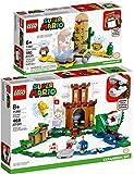 bundle lego® super mario™ set di 2 pezzi 71362 71363 fortezza sorvegliata + marghibruco del deserto