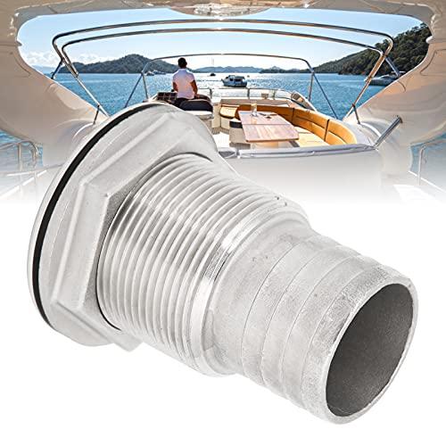 BOTEGRA Conector pasacasco, Conector pasacascos Resistencia a la oxidación Resistencia a la corrosión para Todo Tipo de embarcaciones para Conector pasacasco(1')