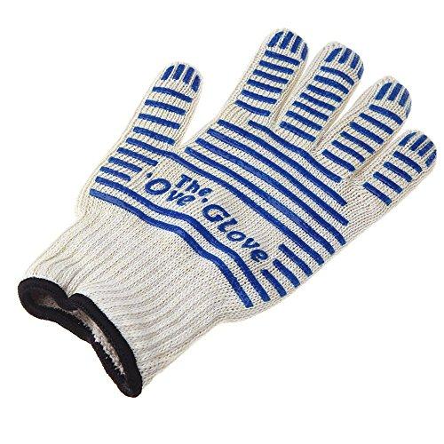 Anself universel gant isolant chaleur preuve résistant 250 ℃ pour droit gauche main protecteur