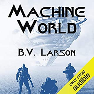 Page de couverture de Machine World