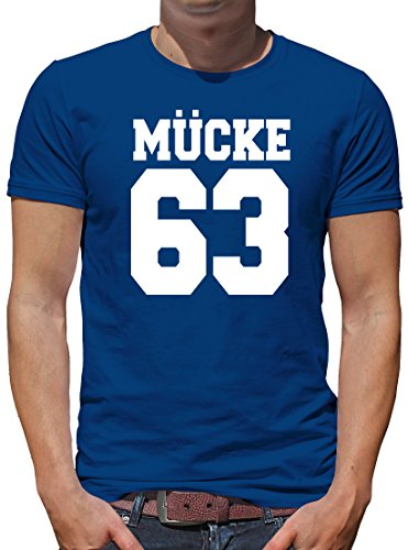 TShirt-People Mücke 63 T-Shirt Herren XL Königsblau