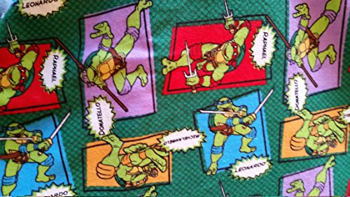 Country Snuggles Ninja Turtles Lampshade Cover, Matching Night Light, Matching Switchplates (Lamp Cover Medium)